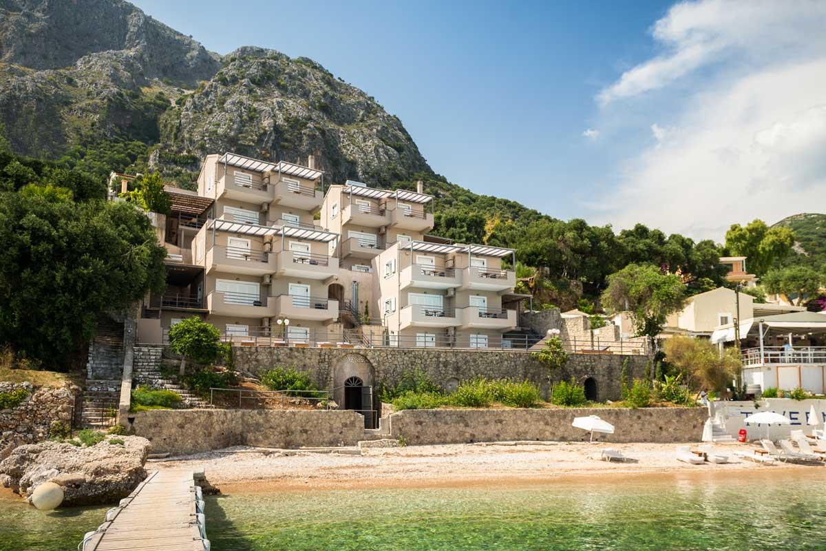 glyfa beach front villas barbati corfu 15
