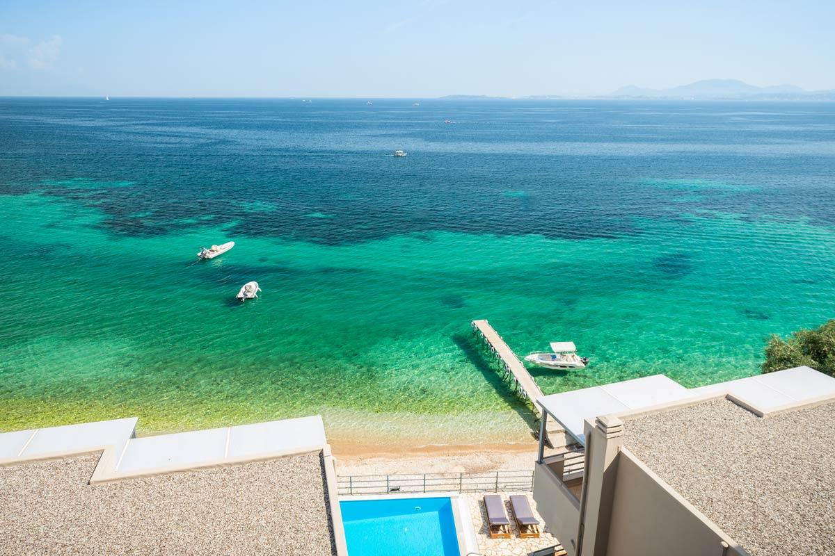 glyfa beach front villas barbati corfu 20