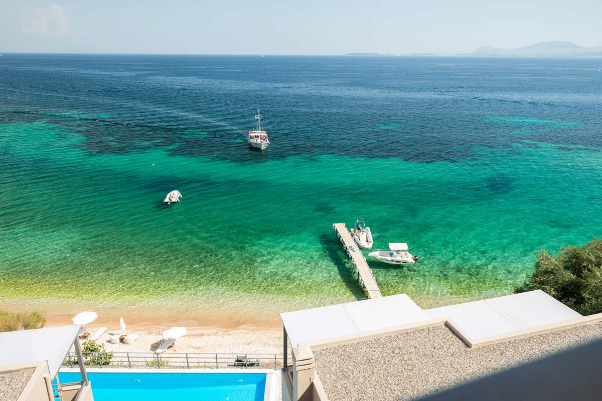 glyfa beach front villas barbati corfu 22