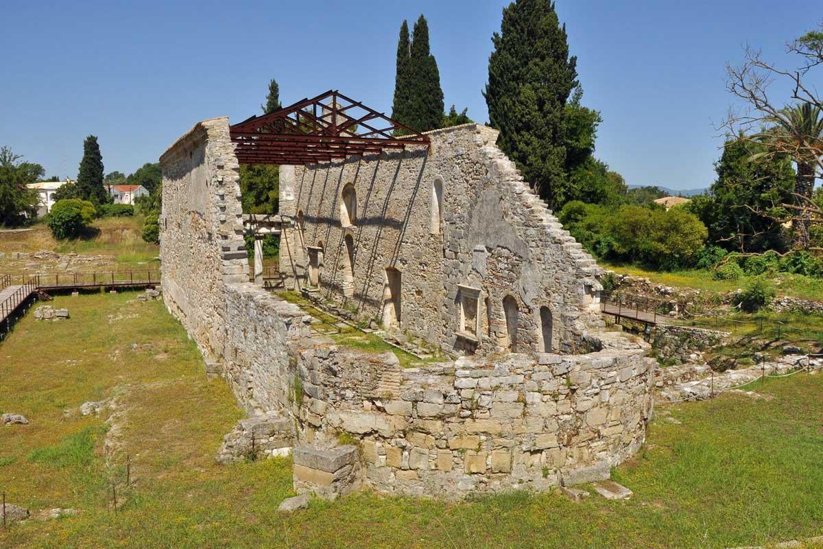 paleopolis corfu barbati seafront pool villas